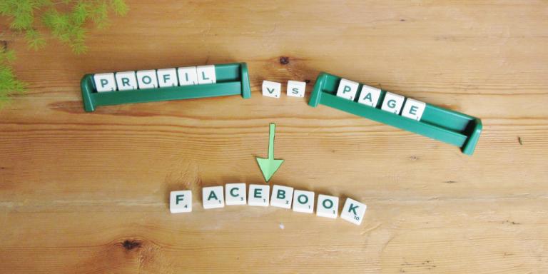 Facebook : différences profil / page