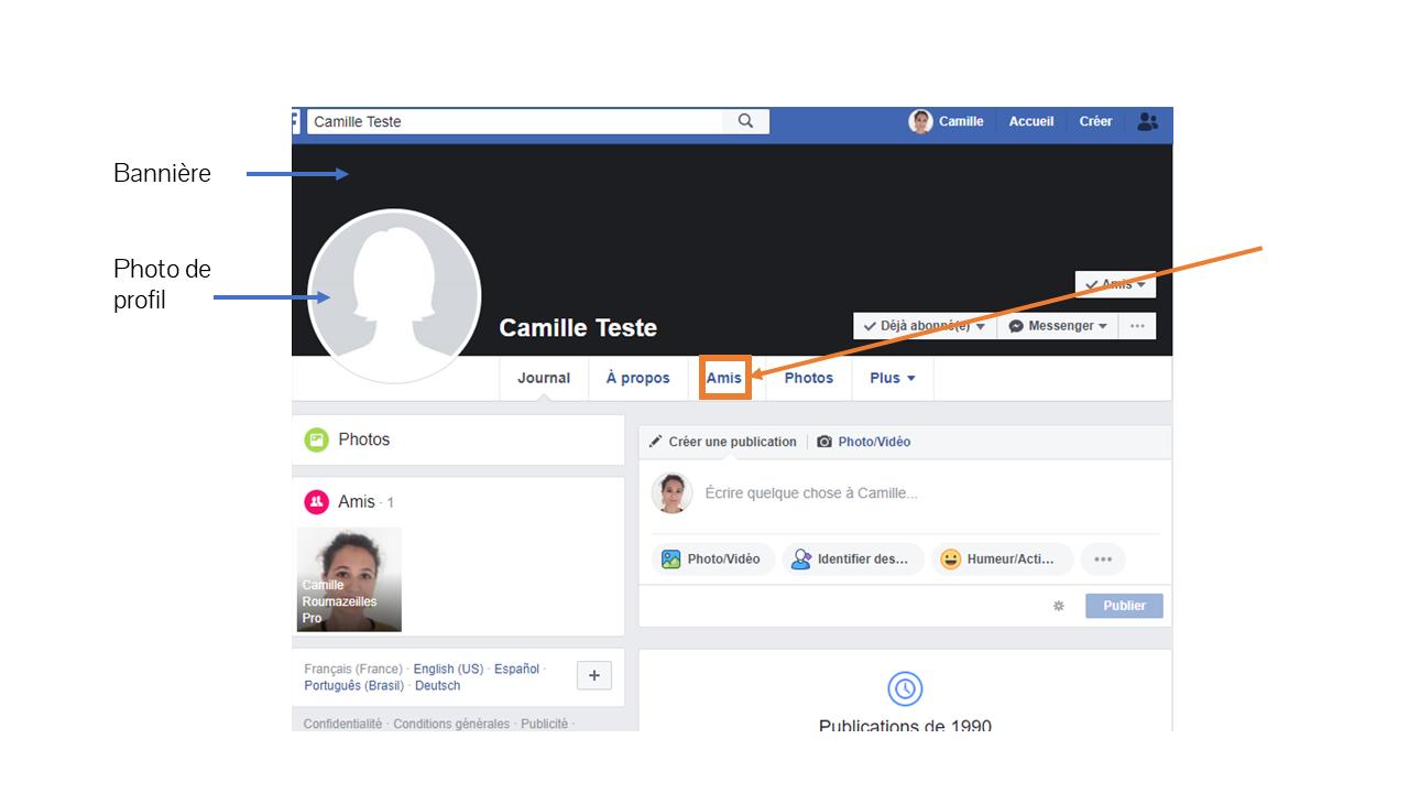 tuto facebook profil cr communication formation