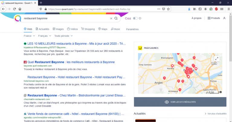 navigateur différence moteur de recherche camille roumazeilles